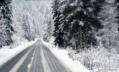 a nice ride thru the snow