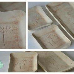 Bandejitas Diente de Leon!!! Podríamos decir... Multiuso!!! #alfareria #pottery #ceramica #deco #decoratumesa…