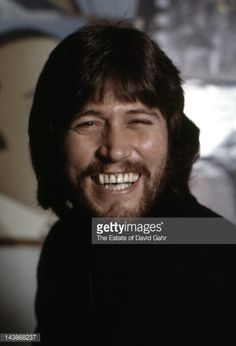 Singer/songwriter Barry Gibb of the musical group The Bee Gees poses for a portrait in April 1974 in Miami, Florida.