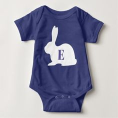 BUNNIES BABY BODYSUIT - girl gifts special unique diy gift idea