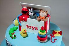 toy box cake - Google Search