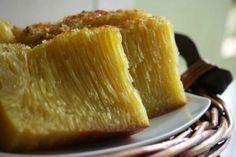 Bika Ambon cake from Medan, Indonesia