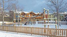 Parque infantil en zona residencial de Puigcerdà!