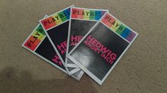 Hedwig And The Angry Inch - DARREN CRISS Pride Playbill