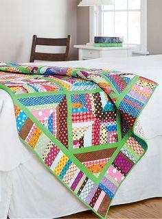 - Lime Twist Quilt Kit