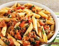 Ταρτάκια με κρέμα πατισερί και φρούτα - Αλάτι και Πιπέρι Pasta Salad, Food And Drink, Ethnic Recipes, Cold Noodle Salads, Noodle Salads, Macaroni Salad