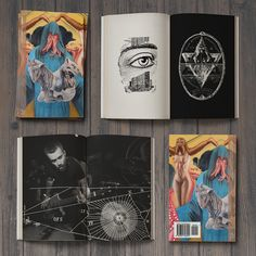 Godmaker book artwork samples