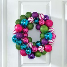 DIY Ornament Wreath How to