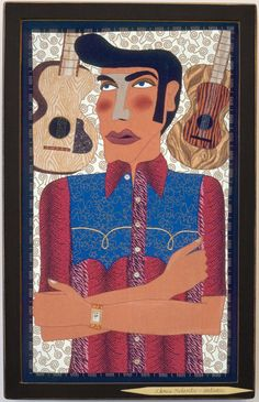 Chris Roberts-Antieau   Elvis in the Shirt his Mother Made