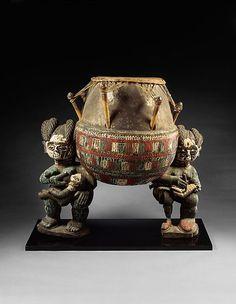 Drum | Akan Ashanti people | The Met