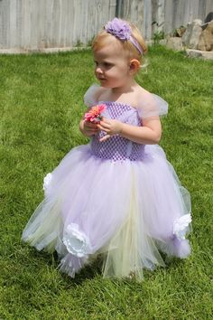 READY TO SHIP Princess Sofia the First Tutu by PeekBoutiqueBaby, $62.00