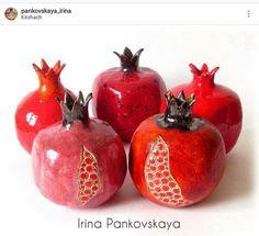 Ceramic Art Pomegranates
