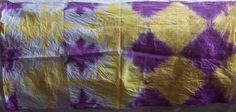 Clapping -dyeing fabric