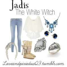 Jadis by loveandpixiedust featuring knit boots