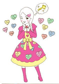 Anna Lou - Kiss me sweets!