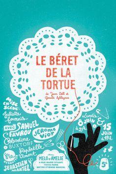 LE BÉRET DE LA TORTUE | supercinq | http://www.supercinq.net/?p=1249