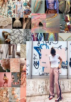 Moodboard made after visiting Fashion Fairs in Berlin and Amsterdam #1