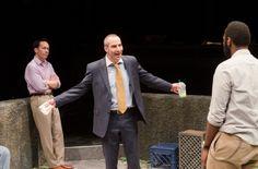 Daniel Cantor, Cedric Mays, Gordon Chow in 'Fish Men' - Teatro Vista, 2012