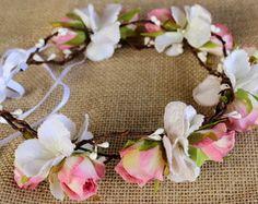 Guirlanda Floral Para Noiva REF.GF14008
