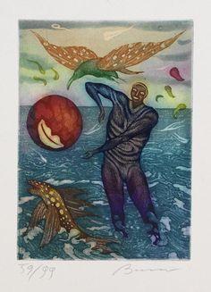Arik Brauer - Die Menschenrechte (The Human Rights), 1972 Rudolf Hausner, Figure Painting, Painting Inspiration, Berlin, Human Rights, Vienna, 21st Century, Figurative, Murals
