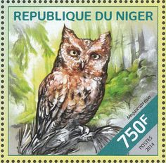 Eastern Screech Owl stamps - mainly images - gallery format