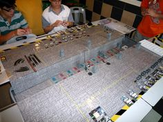DeathStar Trench Run Singapore 24.02.2013 with a big surprise! | Star Wars: X-Wing Miniatures Game | BoardGameGeek