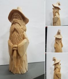 Simple Wood Carving, Wood Carving Faces, Dremel Wood Carving, Wood Carving Designs, Wood Carving Patterns, Tree Carving, Wood Carving Art, Wood Carvings, Whittling Projects