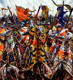Battle of Crecy, 1346.