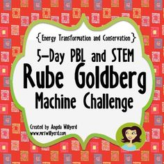 Get students operating at a higher level of thinking with this Rube Goldberg Machine Challenge Unit!  This product is a 5-Day PBL and STEM Project which allows students to create a Rube Goldberg-type machine using some basic materials provided by the teacher and materials from home.