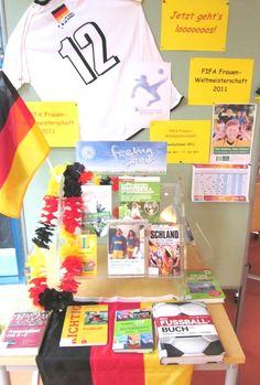 Medienausstellung zur FIFA Weltmeisterschaft im Frauenfussball