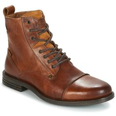 Levis Stivaletti uomo EMERSON Marrone Cuoio 5904717 - Stivaletti Uomo - Ideas of Stivaletti Uomo Leather Men, Leather Boots, Emerson, Hiking Boots, Combat Boots, Shoe Boots, Converse, Footwear, Mens Fashion