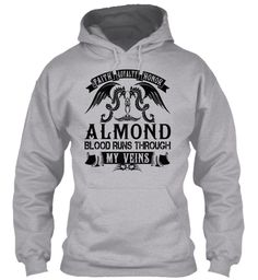 ALMOND - My Veins Name Shirts #Almond