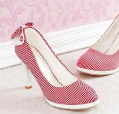 #Sweet Quadrille #Stiletto #Heels with Lovely #Bowtie