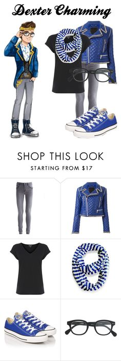 """""""Ever After High - Dexter Charming"""" by saffire9975 ❤ liked on Polyvore featuring VILA, Philipp Plein, Warehouse, Peach Couture, Converse and J.Crew"""