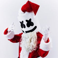 "47 mil Me gusta, 636 comentarios - marshmello [✖‿✖] (@marshmellomusic) en Instagram: ""Merry Christmas to my mello gang around the world, I love you all ❤️"""