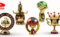 European Club Nintendo: Mario Kart 7 Trophies, Majora's Mask Light, And Mario Golf Balls