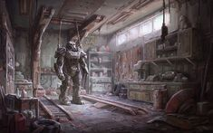 Download HD Fallout 4 Concept Art Video Games