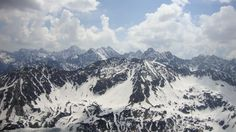 View from Kozi Wierch 2291 m. Tatra Mountain Poland