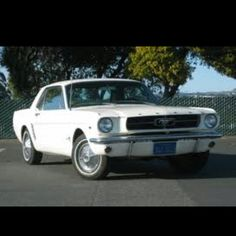 1965 ford mustang. This car is exactly like my first car.   I owned it from 1967 - 1969.....