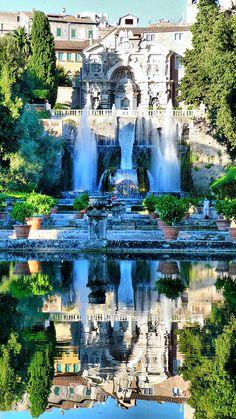 Tivoli, Villa D'este, Rome, Italy