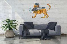 3D Tiger Spark Plug Metal Wall Art Vintage Metal Wall Art | Etsy Metal Wall Decor, Metal Wall Art, Spark Plug, Vintage Metal, Throw Pillows, 3d, Living Room, Room Kitchen, Handmade Gifts