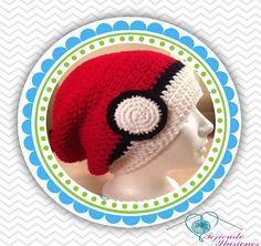 #PokemonGo, #Pokeball #hat #Crochet