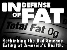 Please support this documentary. Just look at who they already have for interviews and you should immediately click to support, even if it's only a buck - In Defense of Fat: A New Documentary About Obesity - back this project to make it happen!