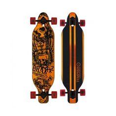 longboard Tempish BRAX FX2 Skateboard, Skateboarding, Skate Board, Skateboards