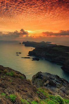Madeira Island sunset - Portugal