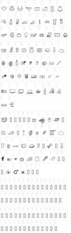 for a bachelorette/bridal shower invide (letters c and d) Peax Webdesign Free Icons