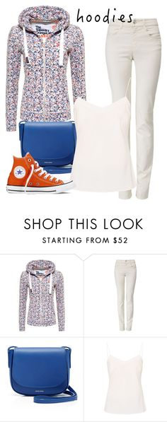 """""""Hoodie"""" by everydaytalks on Polyvore featuring Superdry, Armani Jeans, Mansur Gavriel, Ted Baker and Converse"""