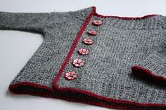 Ravelry: derStrickaere's wee moose...free pattern...offset raglan. MXS great colours