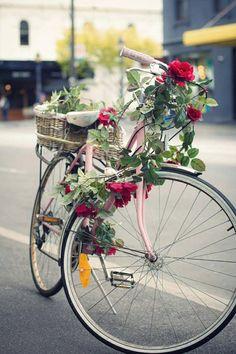 .bike & flowers