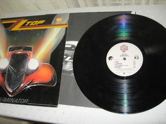 ZZ Top ‎- Eliminator USA 1983 Lp vg++